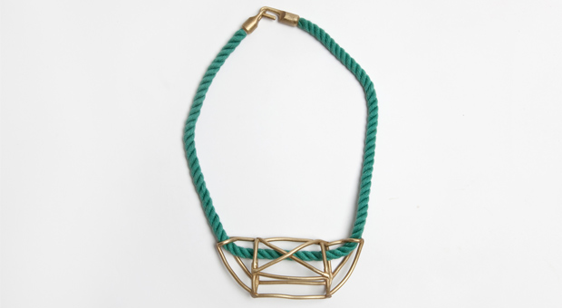 The Emerging Designer Fort Standard Cage Necklace