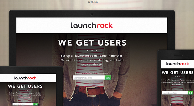 Launchrock Temporary Landing Page