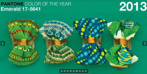Emerald Pantone Color of the Year