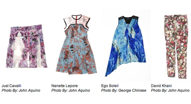 WWD Spring Floral Trend