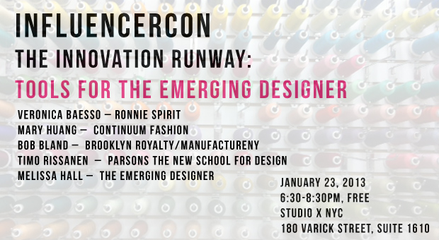 Influencer Con: Tools for the Emerging Designer Conference