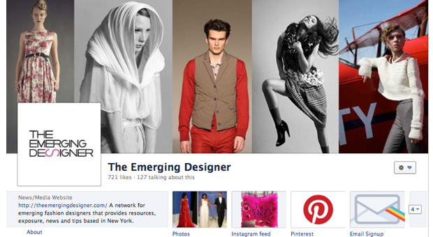The Emerging Designer Facebook