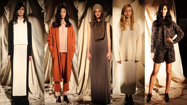 Suzanne Rae Fashion Week Fall 2013 presentation