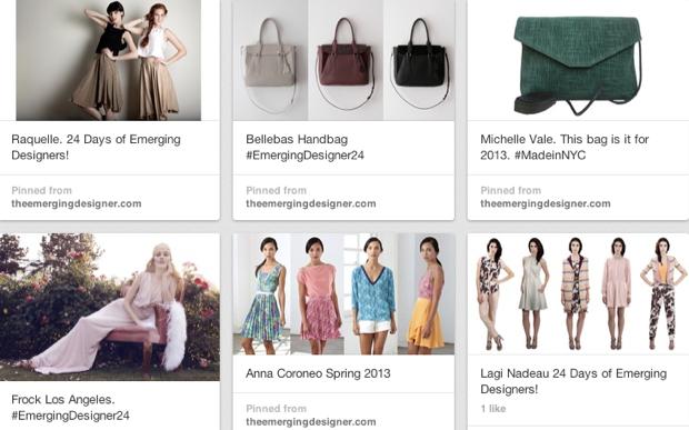 The Emerging Designer Pinterest
