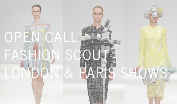 Fashion Scout Open Call