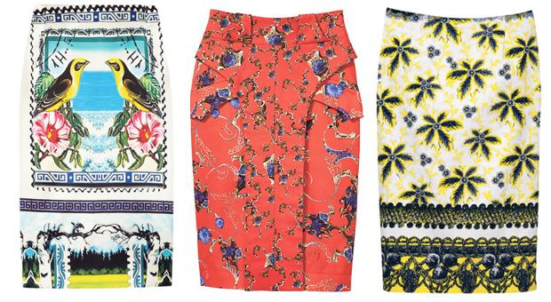 Pencil Skirt Trend
