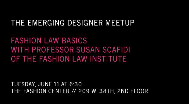 Fashion Law Basics for Emerging Designers