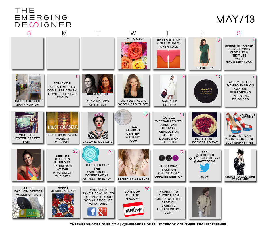 The Fashion Calendar