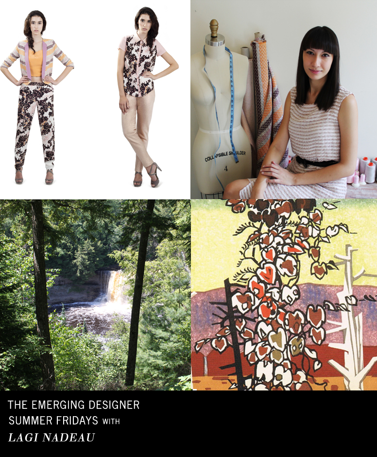 Lagi Nadeau Emerging Designer