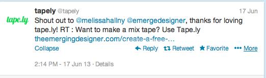 Embed Tweet into Twitter