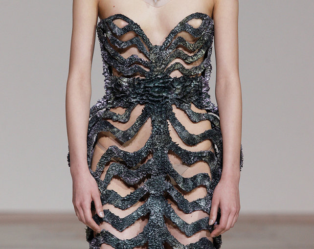 Iris van Herpen Magnet Dress