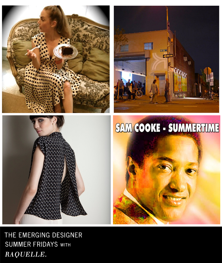 Raquelle fashion designer