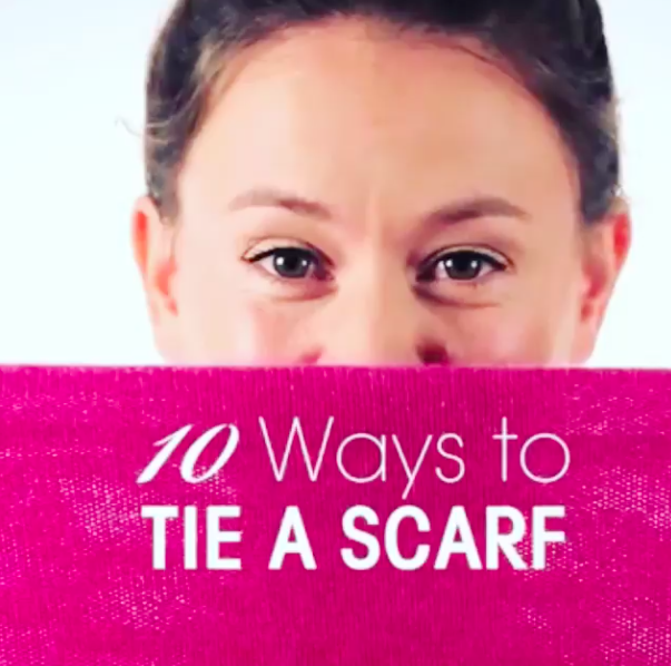Holt Renfrew 10 Ways to Tie A Scarf