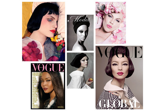 Covers of Pat McGrath