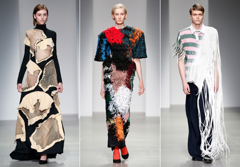 Central St. Martins emerging fashion designers