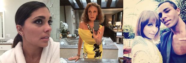 Fashion Designer Instagram Selfies