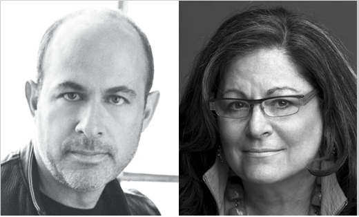 Fern Mallis and John Varvatos
