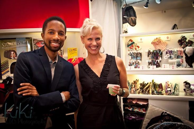 Brandon Graham and Fashion Illustrator Jennifer Lilya