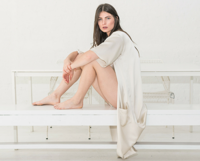 NILETA women's silk Sleepwear made in New York