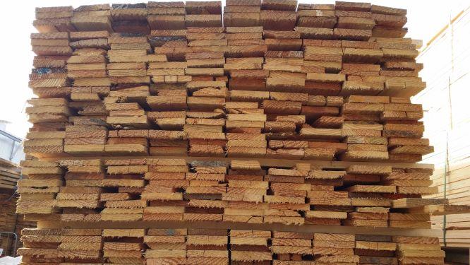 Stacked Wood Beams