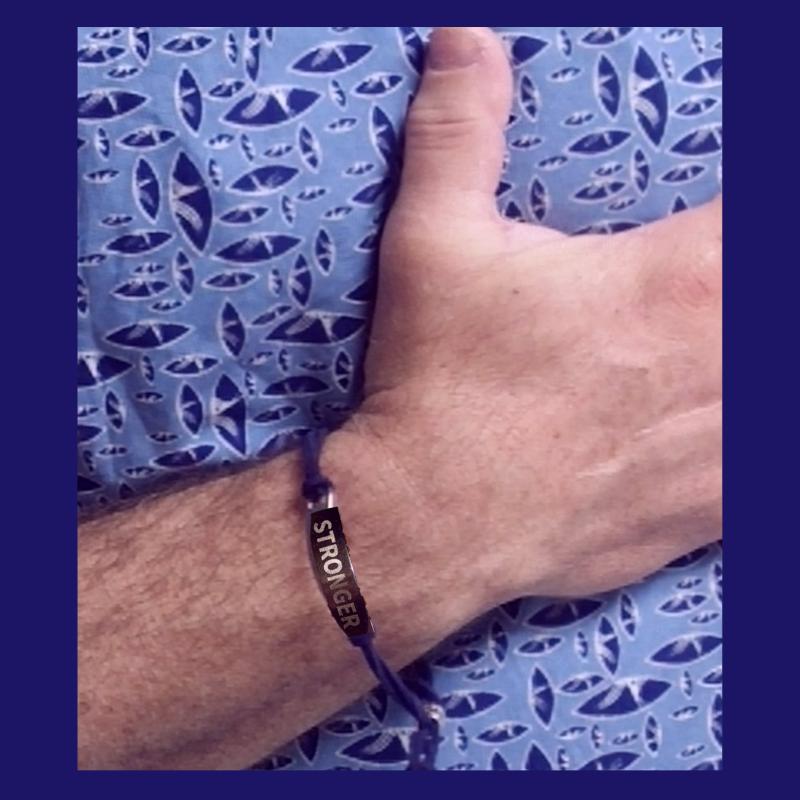 The STRONGER Adjustable Friendship Bracelet