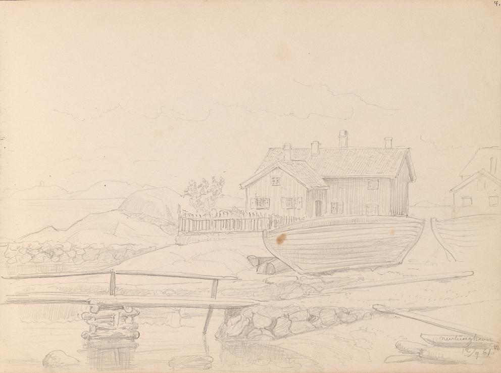 «Fra Nevlunghavn» 12. september 1861