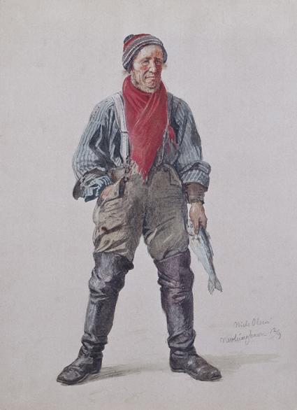 «Niels Olsen» Nevlunghavn 1861