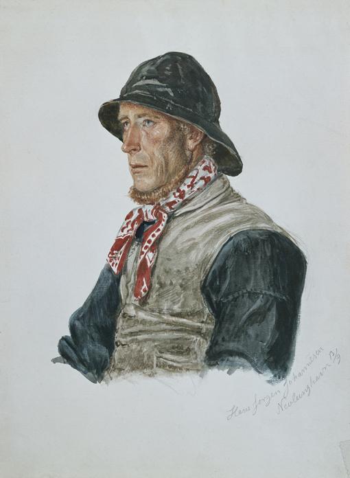 «Hans Jørgen Johannesen, Nevlunghavn» 1861