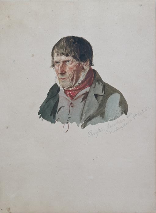 «Christen Jacobsen Lods, Nevlunghavn» 1861