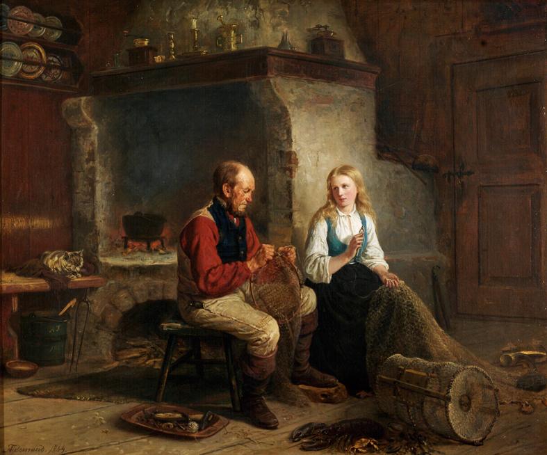 «Fiskeren og hans datter» 1864