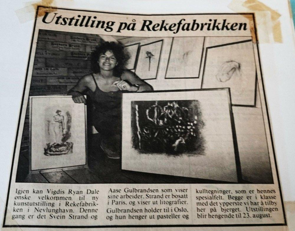 Vigdis Yran Dale drev Rekefabrikken Galleri og Industrimuseum i perioden 1983-1993.