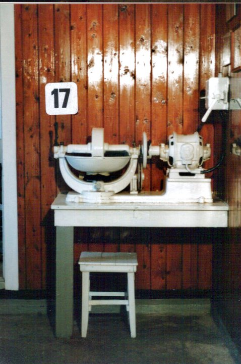 Hakkemaskin for å lage fiskefarse til fiskeboller/kaker.