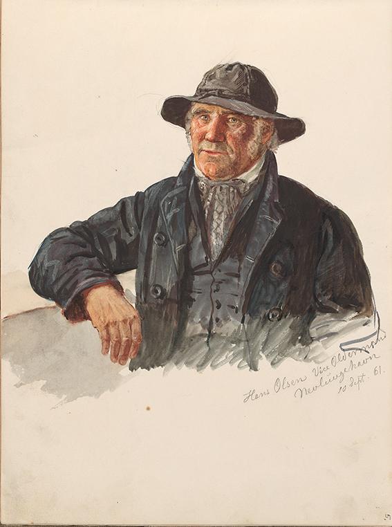 «Hans Jacob Olsen» Nevlunghavn 10.september 1861