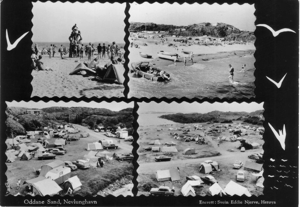 Oddane sand (kort sendt 1970).JPG