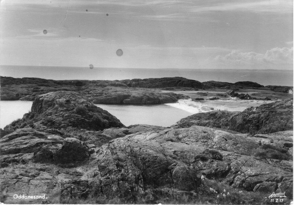 Oddane Sand fra Ø (kort sendt 1955) (1).JPG