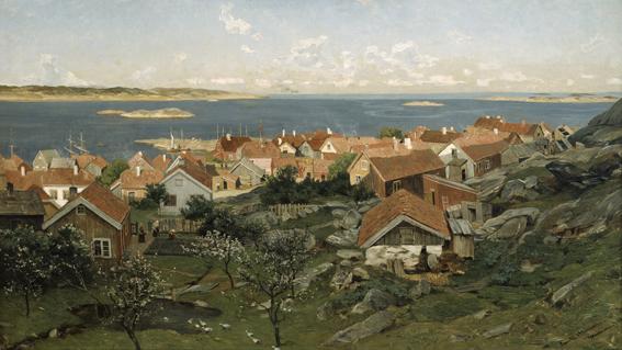"""""""Nevlunghavn"""" 1881"""