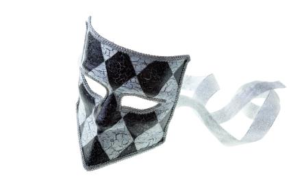 B W Mask Image