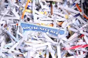 Shreds and Social Security