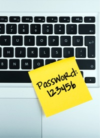Password Sticky Note