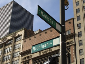 Chicago Street Sign