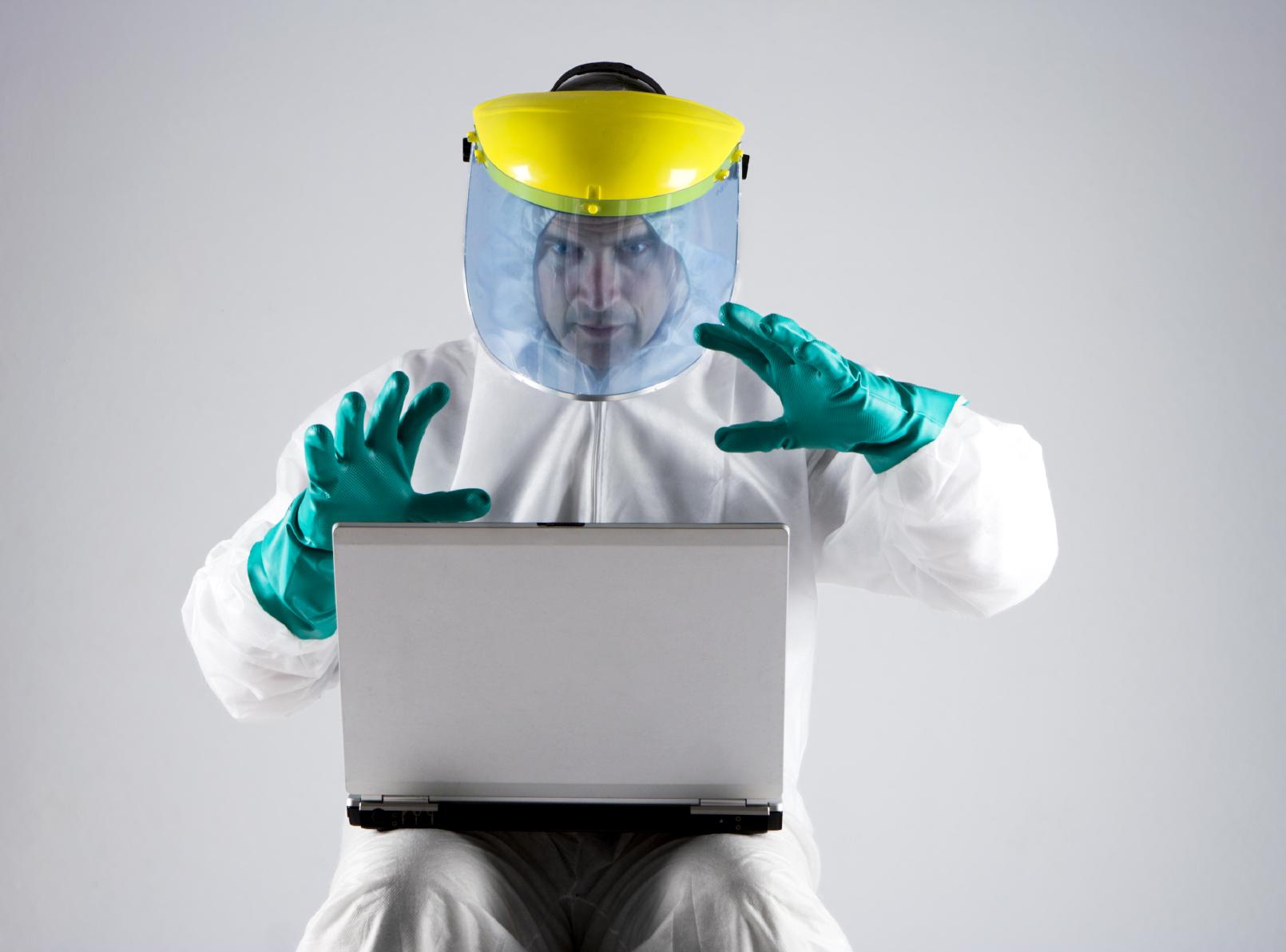 Hazmat computer user