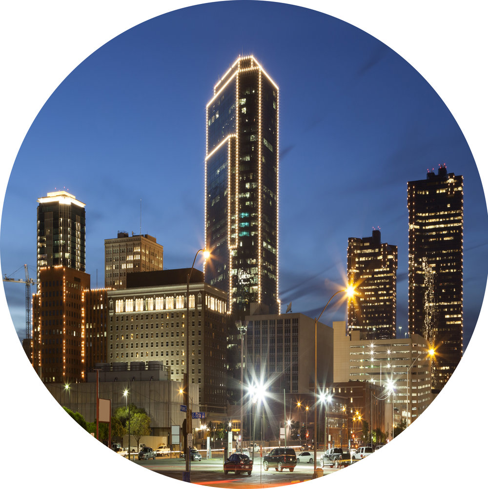 Team based in Fort Worth, average age is under 40, expertise in finance, energy, engineering, software development -
