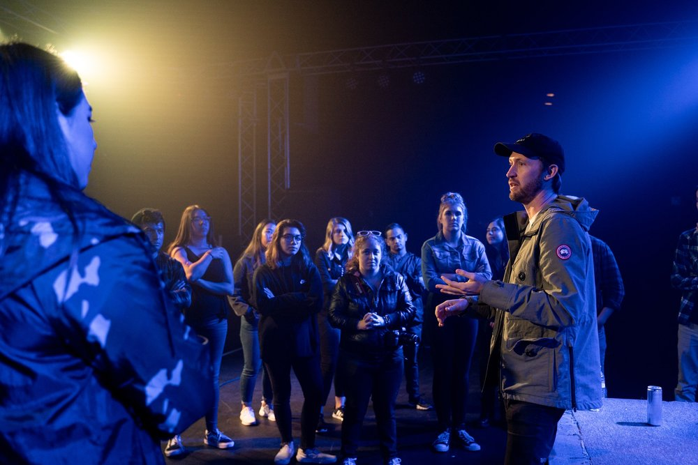 Learning from Kyle Mackinnon, Tour Manager and Production Manager