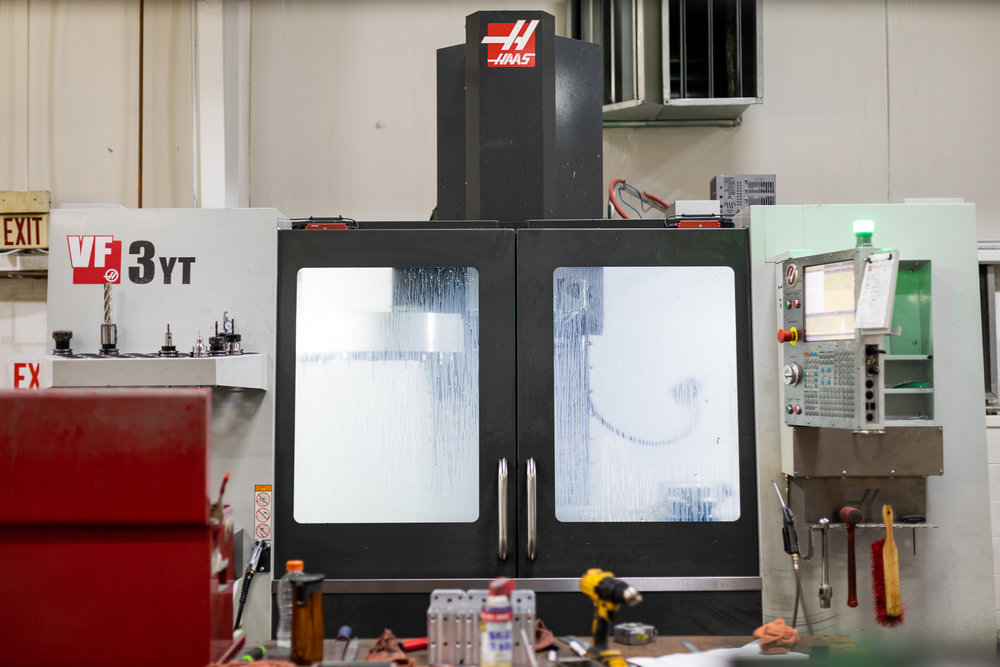 machining - If a fully automated cell isn't needed, we can design and build a variety of manual or semi-automatic fixtures using the latest CNC milling machines and CAM software.