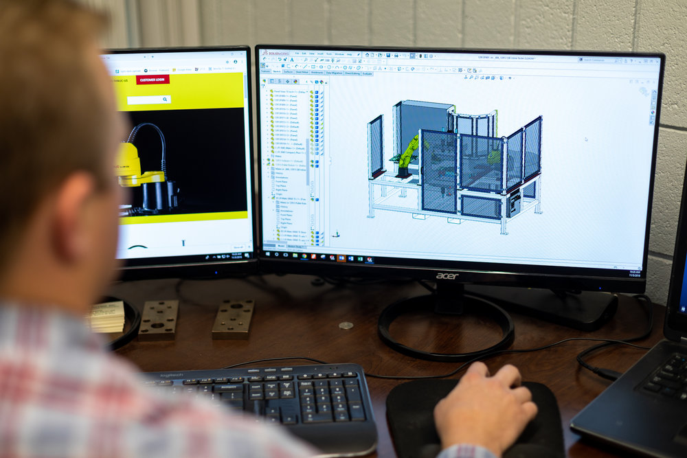 Design - Don't have a design for your product or part? No problem. We can design a project from start to finish using latest 3d CAD software.