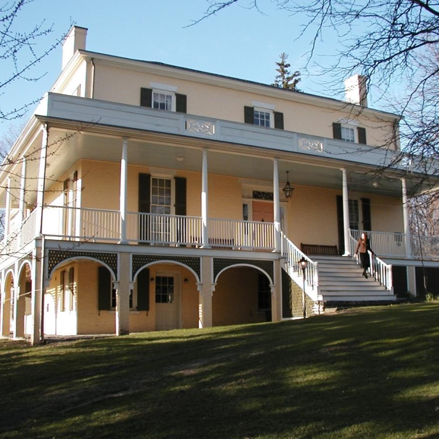 THOMAS COLE HOUSE  | Visit the home and studio of American painter Thomas Cole. See some of Cole's most enduring works - and the Hudson riverfront landscapes that inspired him.