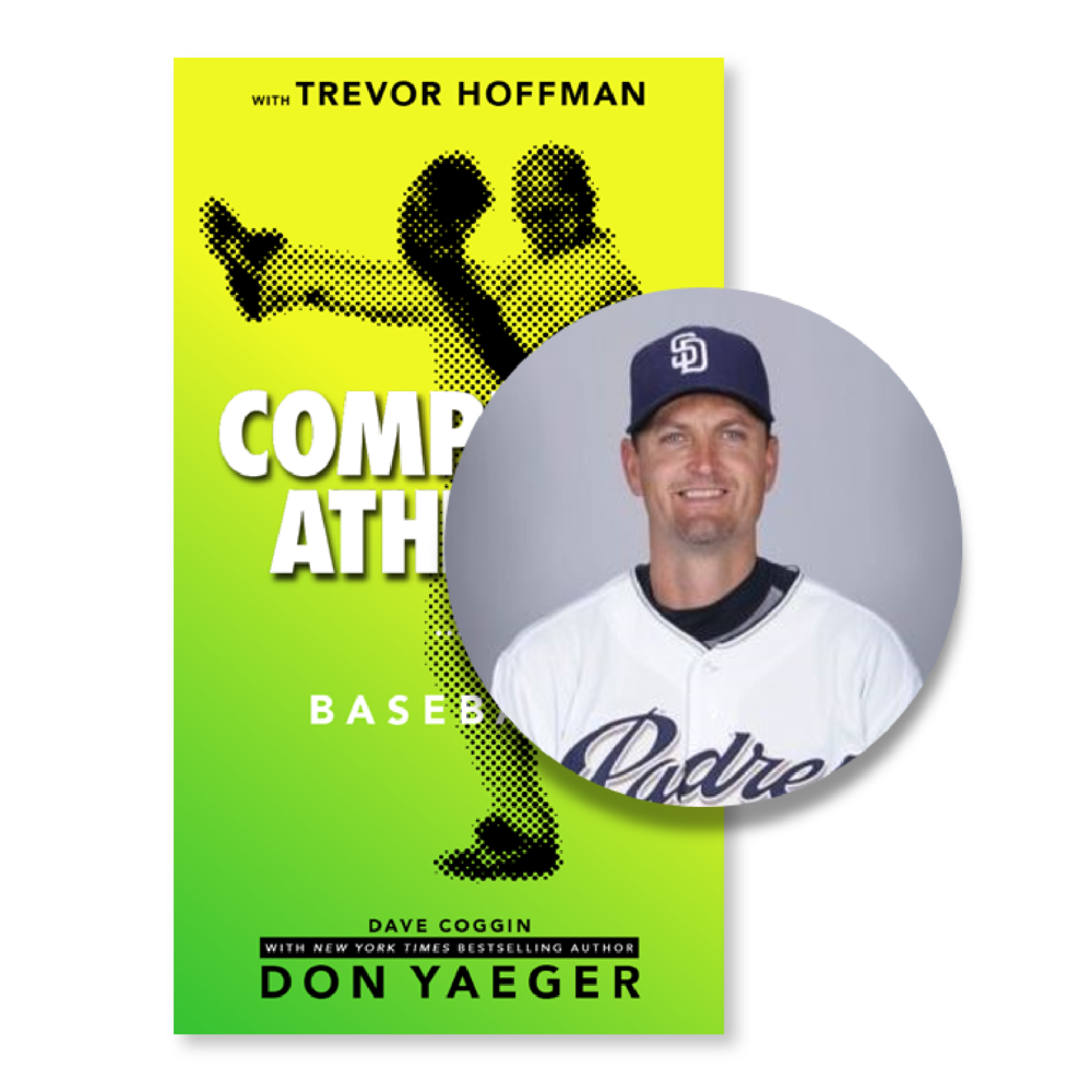 Baseball - In Complete Athlete: Baseball, get tips from the pros like Trevor Hoffman and 11-time NYT Bestseller Don Yaeger. This book highlights the idea that success is not determined solely by one's natural ability; it is also influenced by attitude and behavior, as well as how an athlete treats himself and others, both on and off the field of play.
