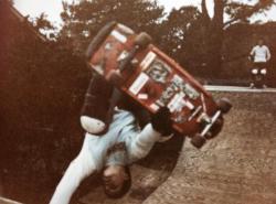 Boarding in 1983.