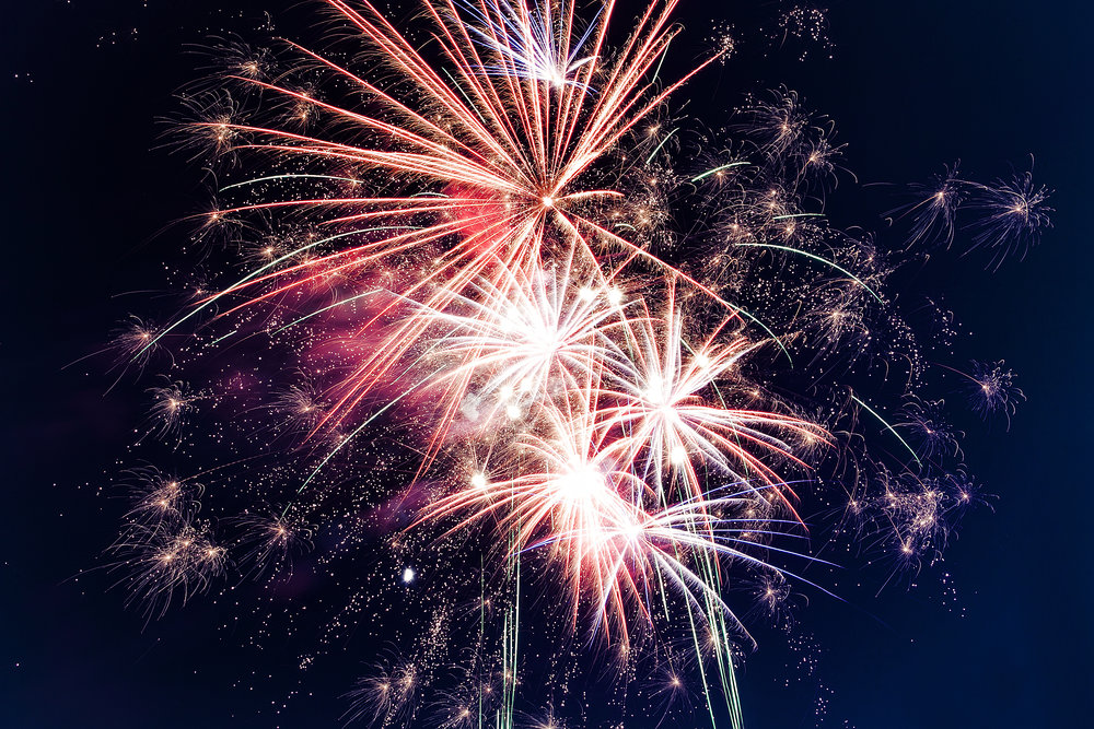 The Fireworks App - Make celebrations awesome with a firework on your homepage.(this will land soon in the app store)