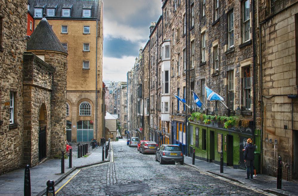 5. Edinburgh, Scotland -